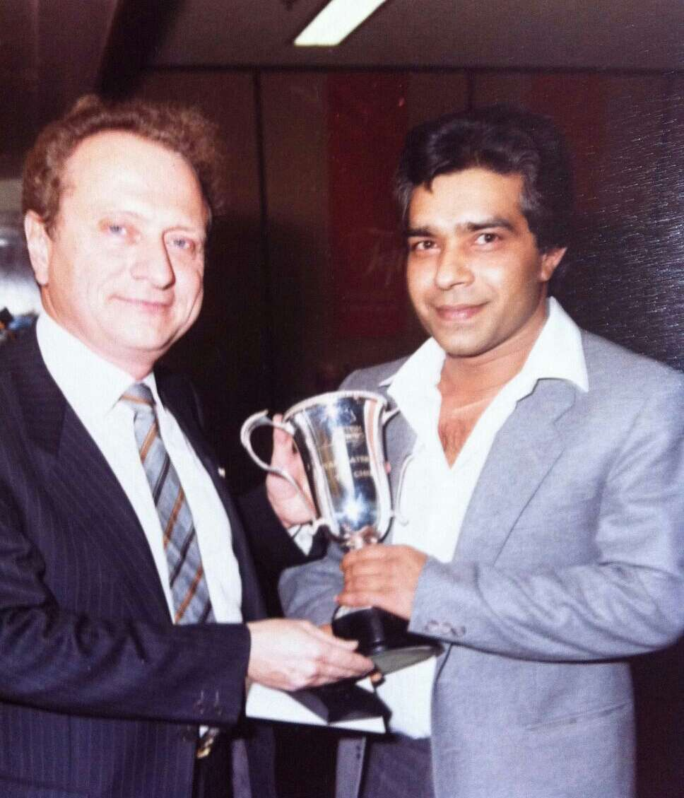 Ashok received his award for best CPU in 1992 by the one and only Mr Michel Roux Snr – Head of the Roux Dynasty!